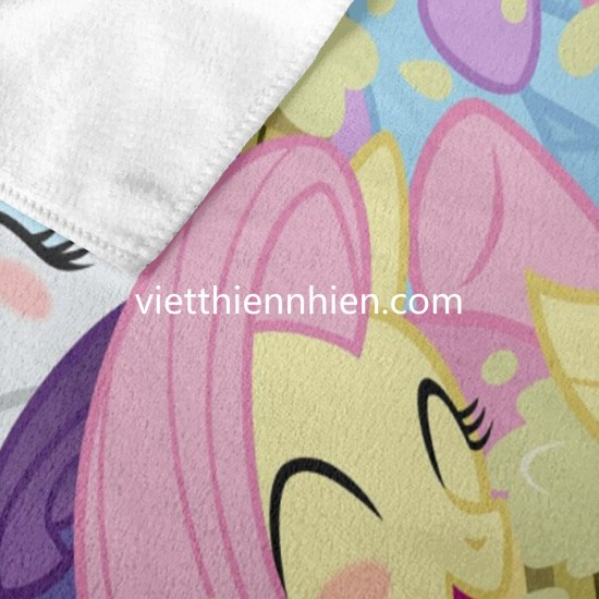 Applejack Fluttershy Pinkie Pie Rainbow Dash Rarity Twilight Sparkle soft hand towels Soft Highly Absorbent Quick Dry Beach for Bathroom Hotel Gym and Spa Washcloths White 52x32 Inch(pp20210327)