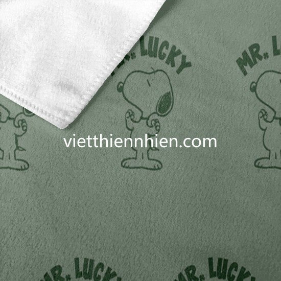 Peanuts Snoopy Mr. Lucky Film Cartoon Music bathroom towels on sale Soft Highly Absorbent Quick Dry Beach for Bathroom Hotel Gym and Spa Washcloths White 52x32 Inch(pp20210327)