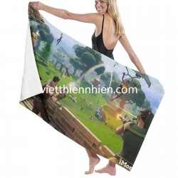 Fortnite bath linen Soft Highly Absorbent Quick Dry Beach for Bathroom Hotel Gym and Spa Washcloths White 52x32 Inch(pp20210327)