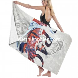2 Pac towel Soft Highly Absorbent Quick Dry Beach for Bathroom Hotel Gym and Spa Washcloths White 52x32 Inch(pp20210327)